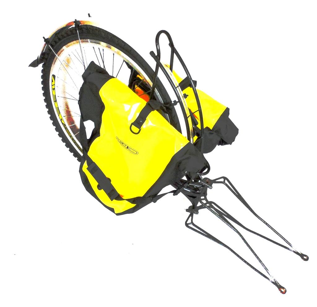 Sormitz Tandem Leihartikel Einspuranhanger Extrawheel Voyager